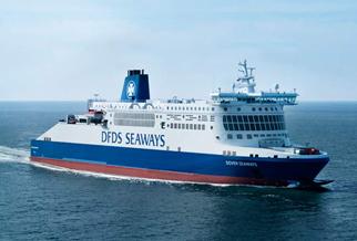 DFDS do 20% znizki na trasie Francja - Anglia